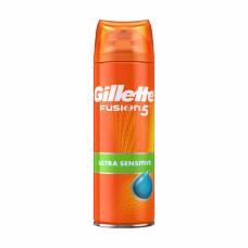 Гель для гоління Gillette Fusion 5 Ultra Sensitive для чутливої шкіри 75 мл