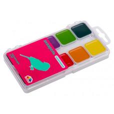 Акварельні фарби Гамма Захоплення 20 кольорів без пензлика