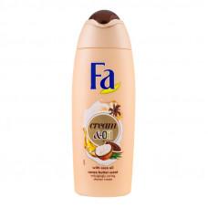 Гель для душу Fa Сream&Oil з кокосовою олією та ароматом какао 250 мл