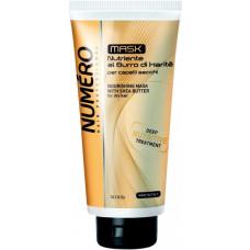 Крем-маска Brelil Numero для волосся живильний з маслом каріте та авокадо 300 мл